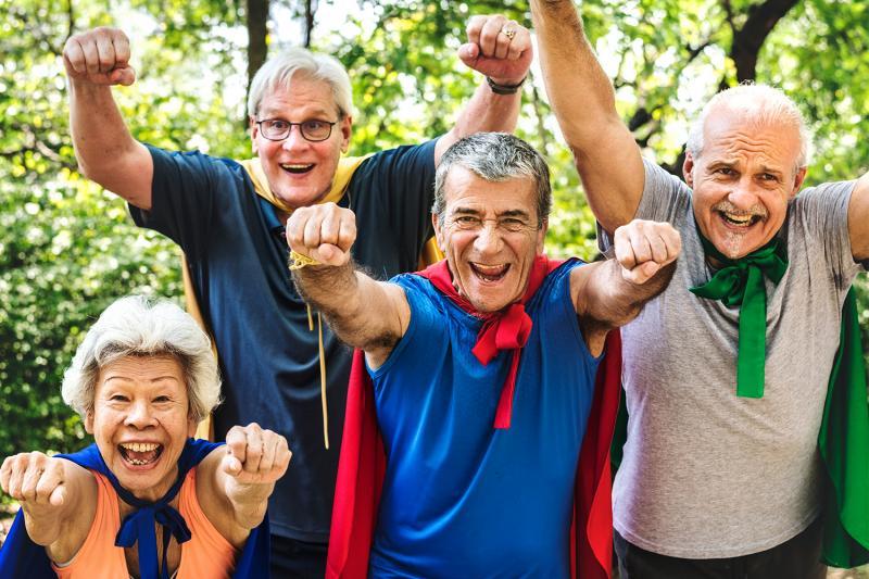 פעילות חברתית לגימלאים – פינה חמה